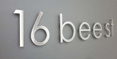 3 D look letters & numbers 150mm high
