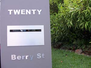 House Sign marine grade stainless steel